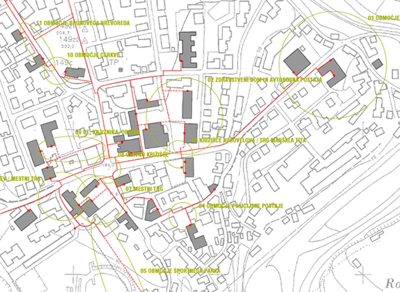 Načrt varnih poti v Tolminu