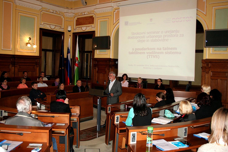 Seminar občine, Dostopnost okolja