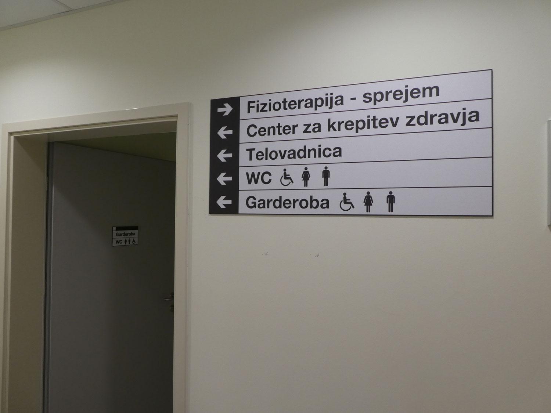 Usmerjevalni sistem v Zdravstvenem domu Ajdovščina