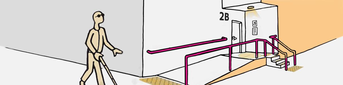 Dostopnost objektov za slepe in slabovidne